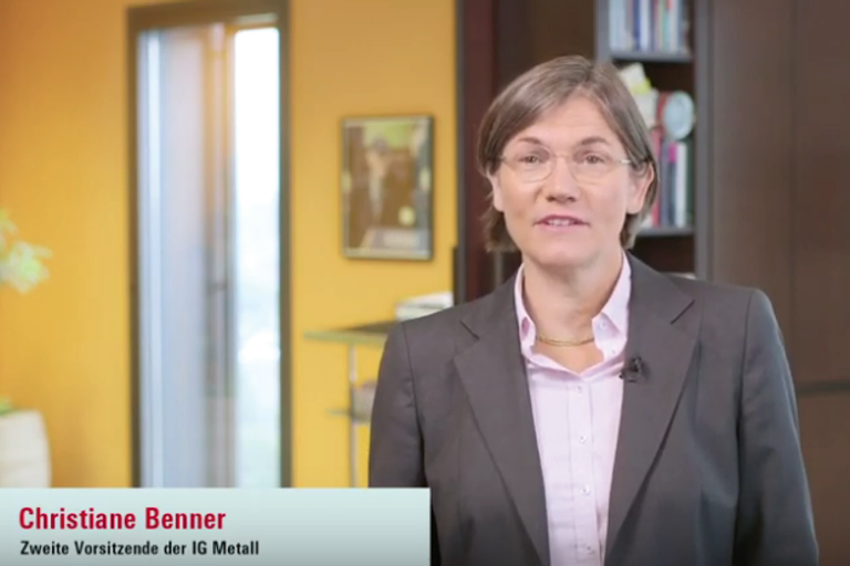 Video Christiane Benner